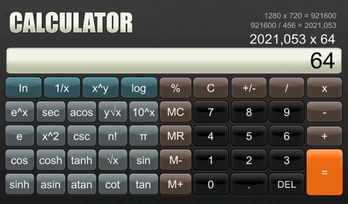 Calculator Nintendo Switch