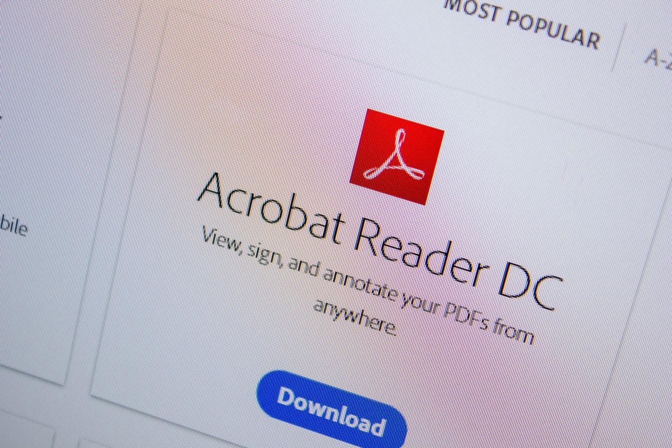 Adobe Reader victime d'une faille 0-day, un patch de sécurité est disponible
