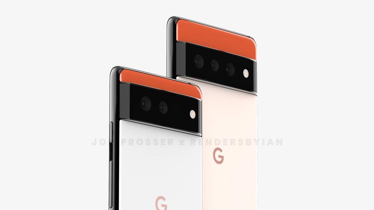 Google Pixel 6 © Jon Prosser