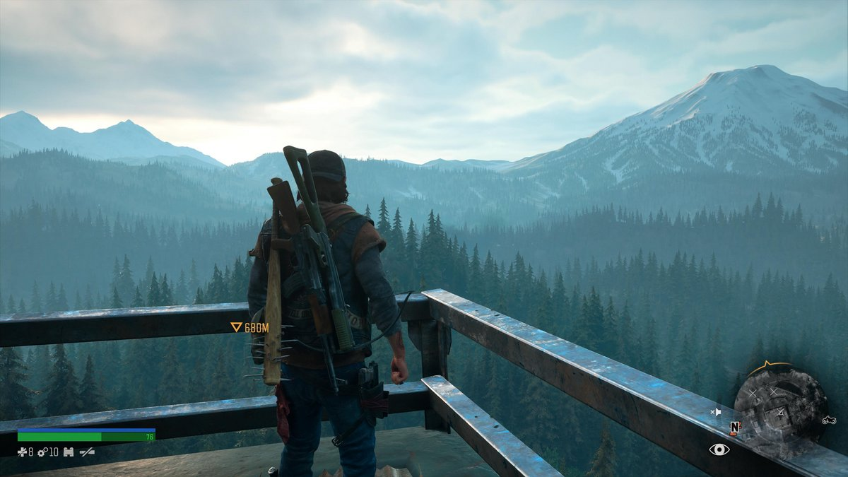 Days Gone PS5 test