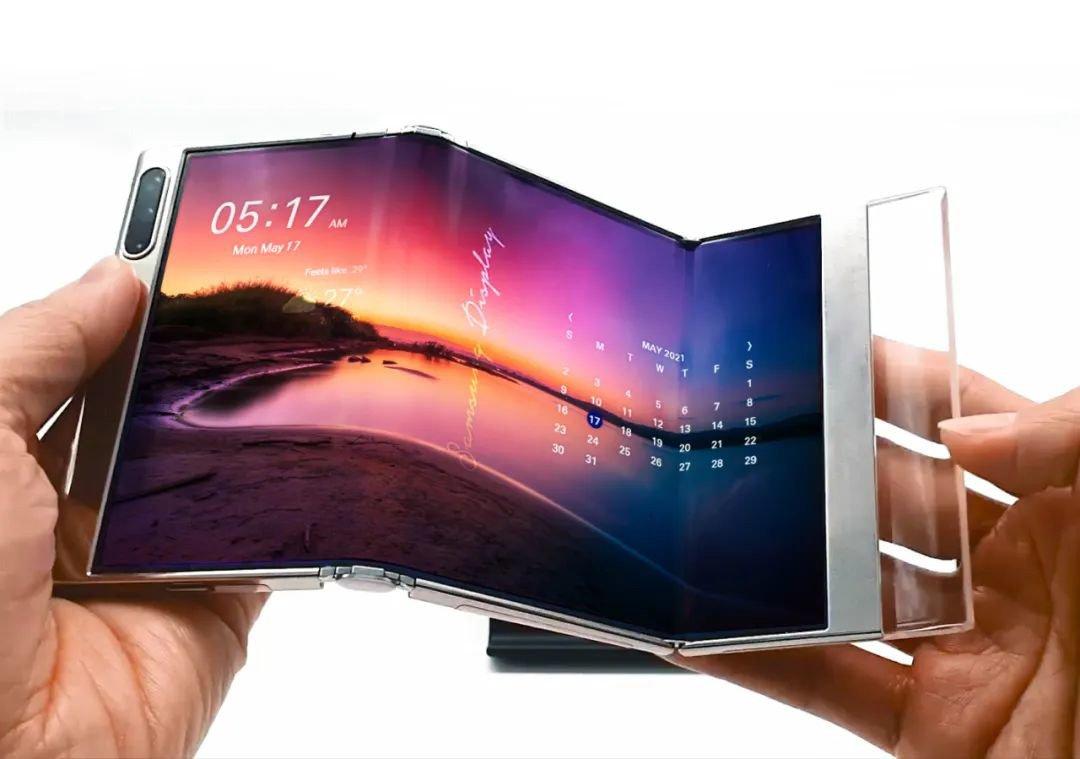 Écran pliable Samsung © Samsung