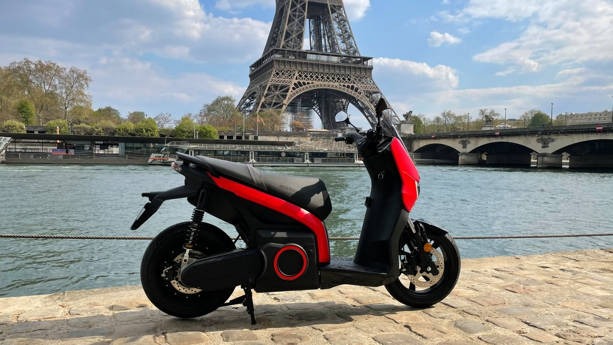 Seat Mo eScooter © Thibault Jousse