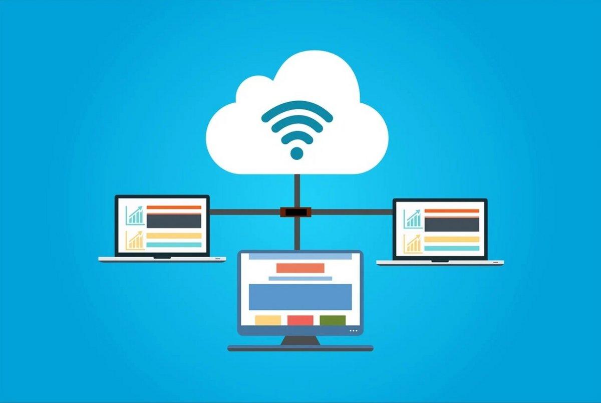 Cloud computing © © kreatikar / Pixabay