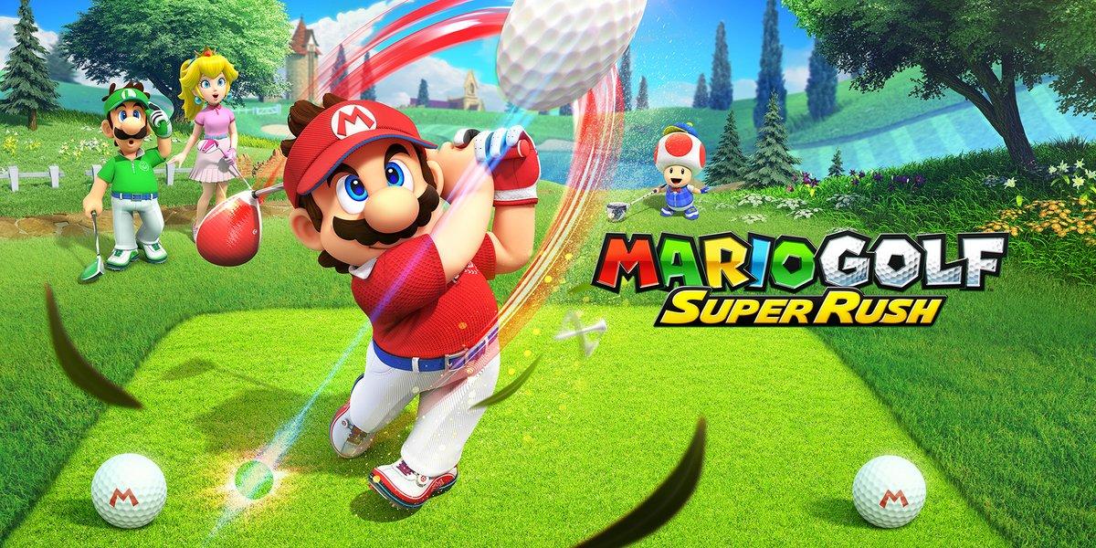 Mario Golf Super Rush © Nintendo
