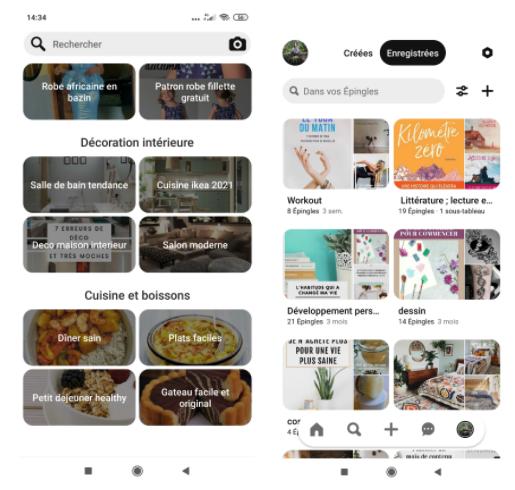 Télécharger Pinterest pour Android (APK)