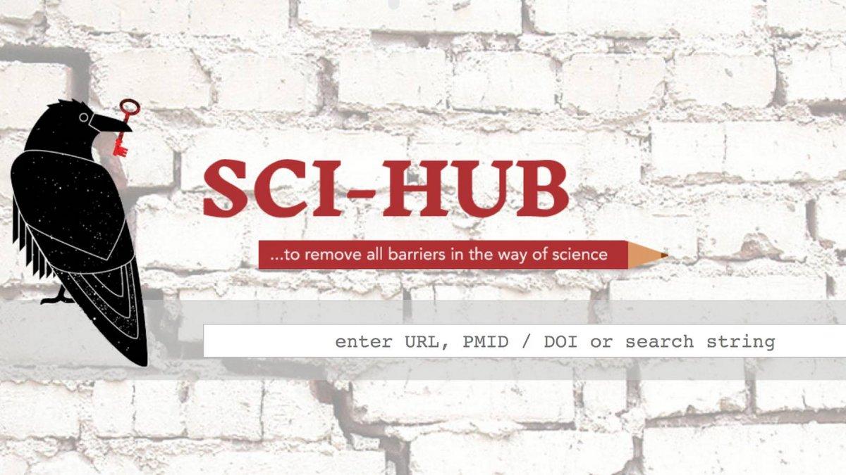 Sci-Hub © Capture Sci-Hub