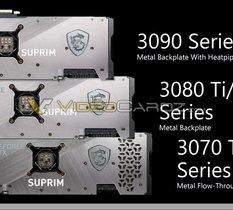 MSI laisse fuiter ses GeForce RTX 3080 Ti 12 Go et RTX 3070 Ti 8 Go