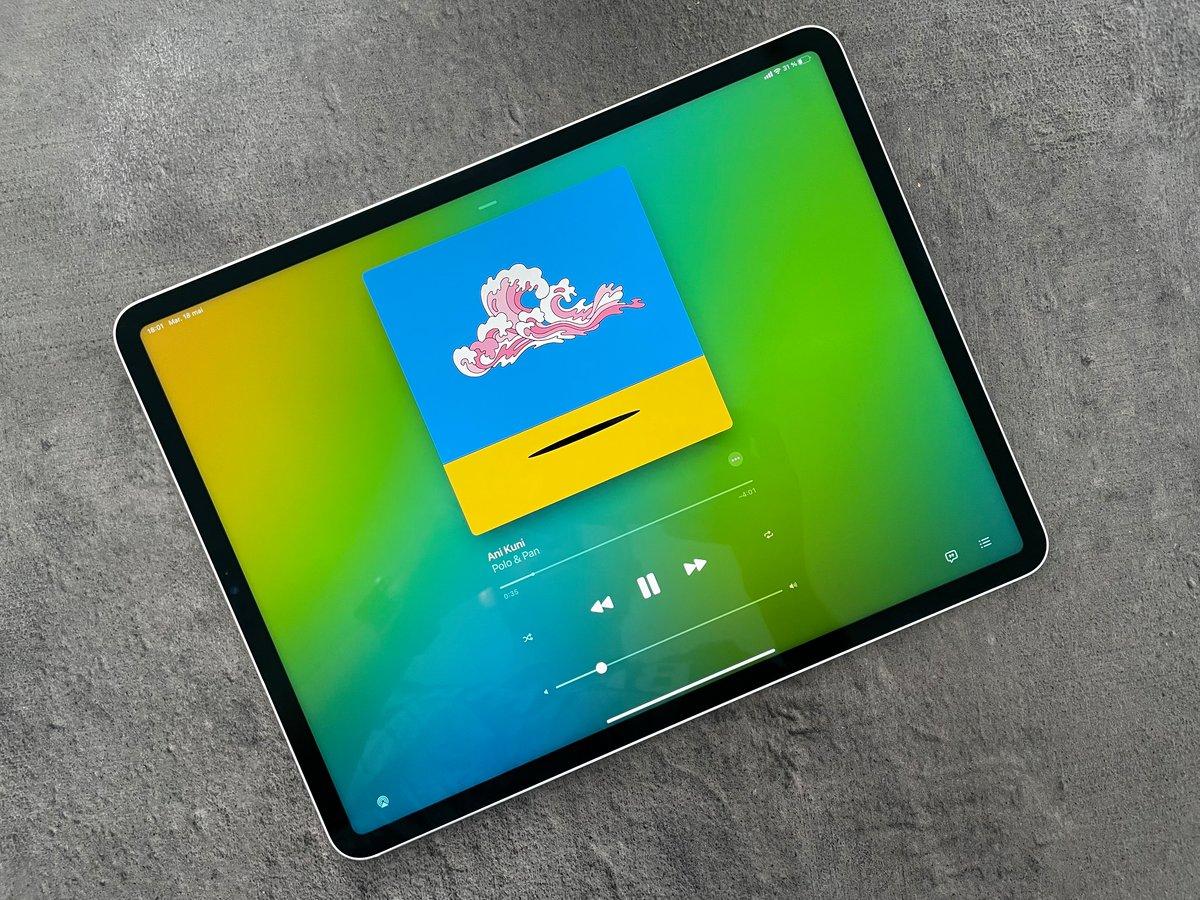 Test iPad Pro M1 © Mathieu Grumiaux pour Clubic