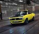 Opel Manta GSe ElektroMOD : une véritable métamorphose technologique