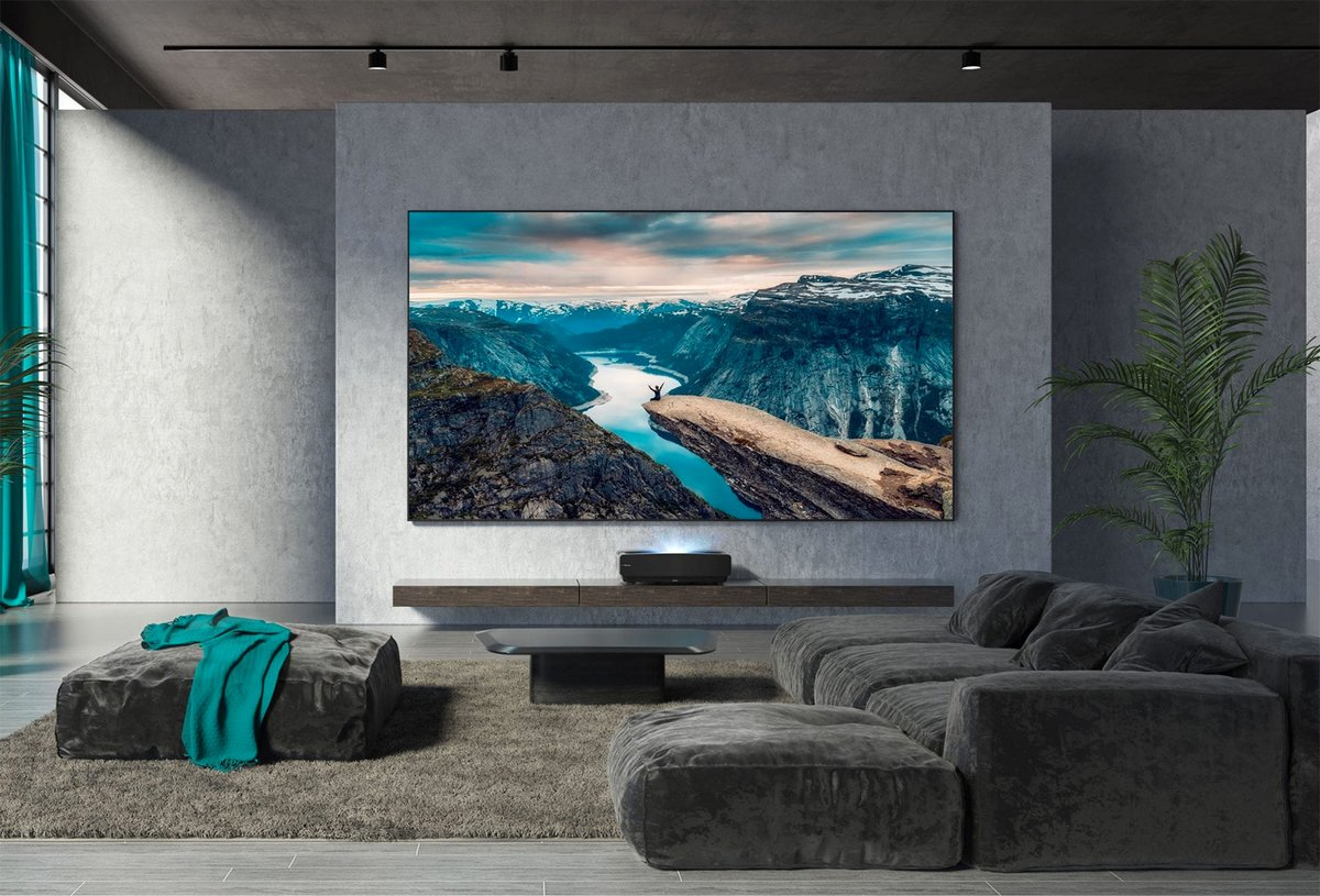 Hisense Laser TV L5VG lifestyle