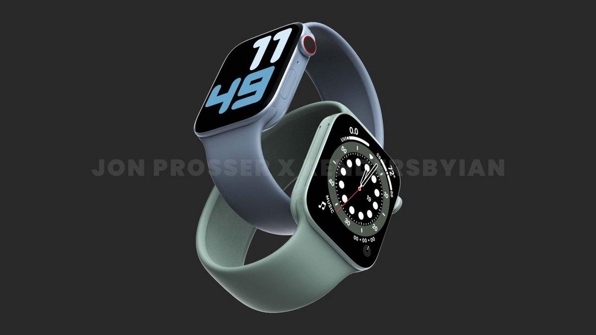 Apple Watch Series 7 © Jon Prosser