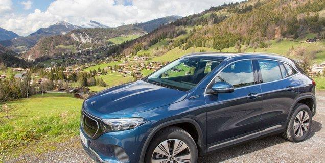 Essai Mercedes EQA : que vaut le SUV compact de luxe, version tout électrique ?