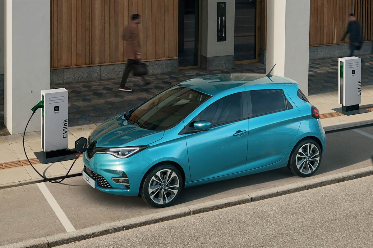 Renault-zoe-recharge © Renault