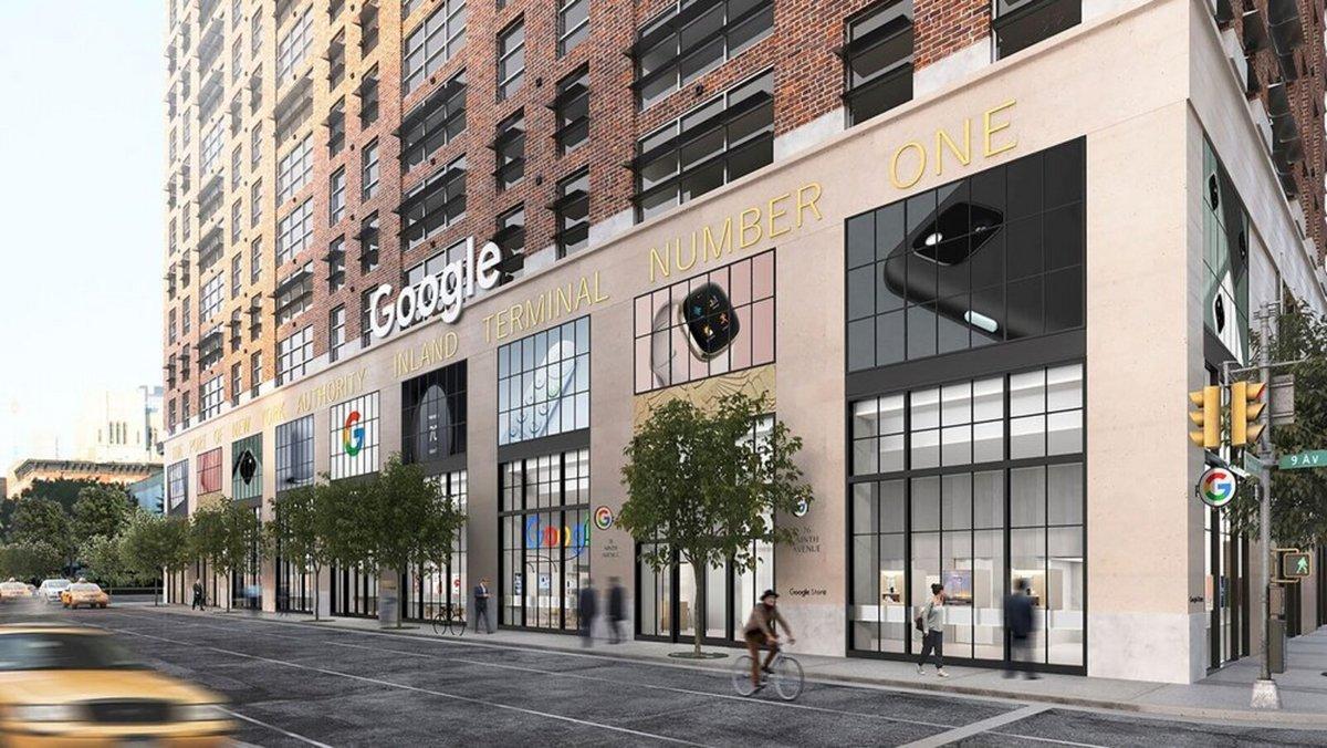 Google Store New York © Google