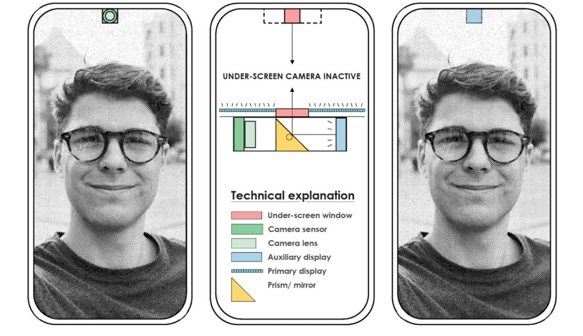 Pixel caméra brevet