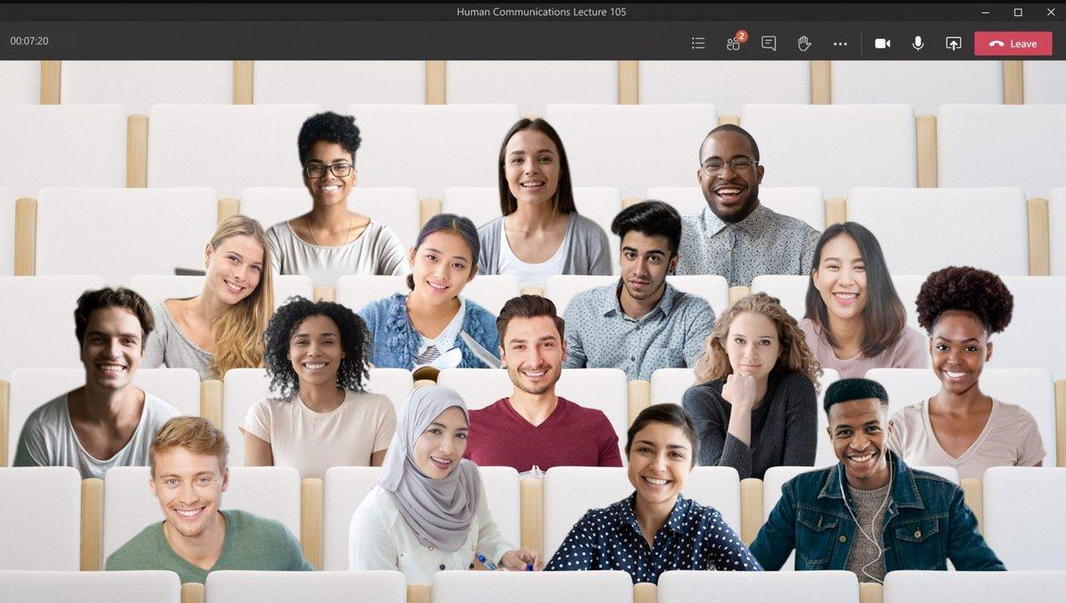 Microsoft Teams mode ensemble