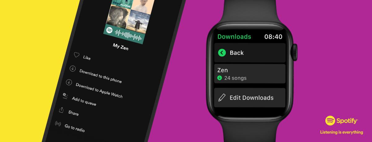 Spotify Apple Watch © Spotify
