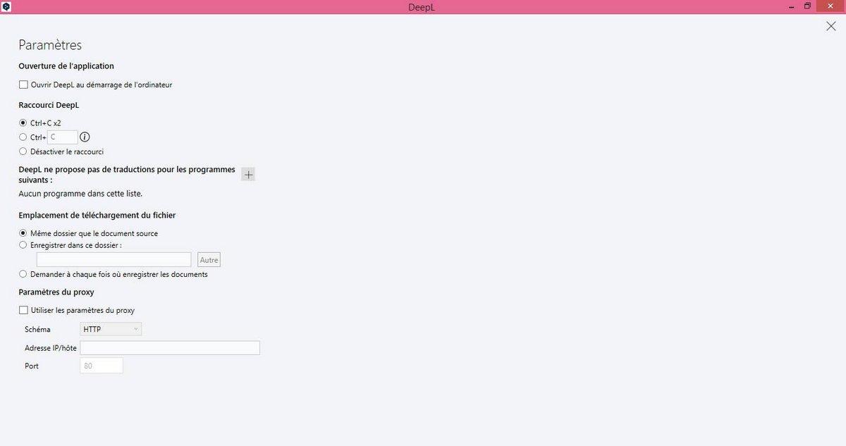 Télécharger DeepL Translate pour Windows