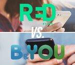 Forfait mobile : deux offres RED et B&You à 5€ par mois, quel opérateur choisir ?