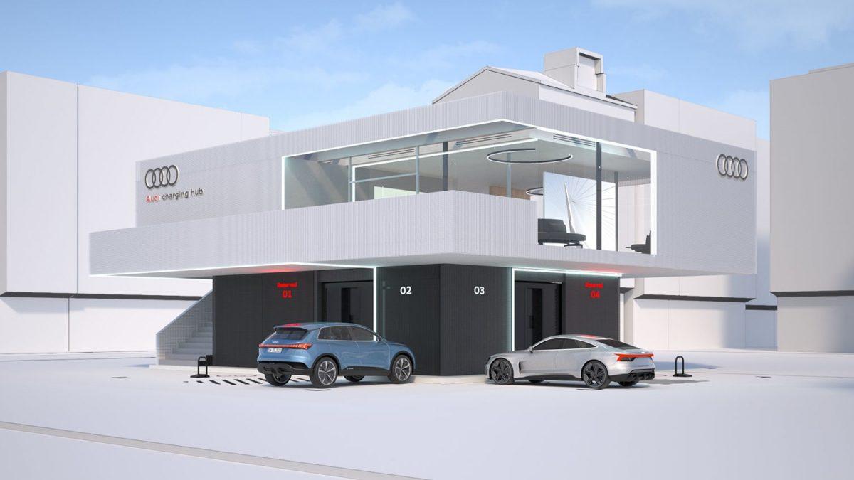 Hub Audi électrique © © Audi