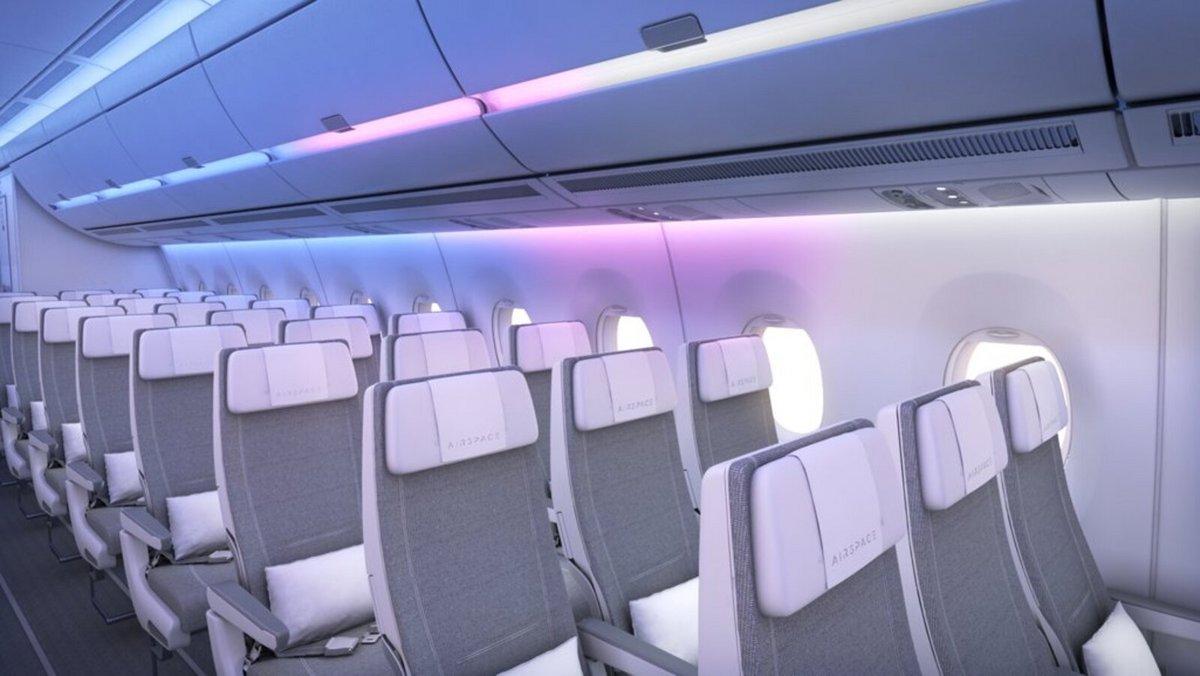 A350 débarquement lumineux © Airbus