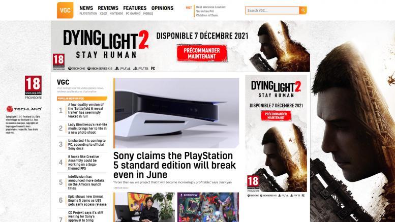 Dying Light 2 date de sortie © © Jeuxvideo-live