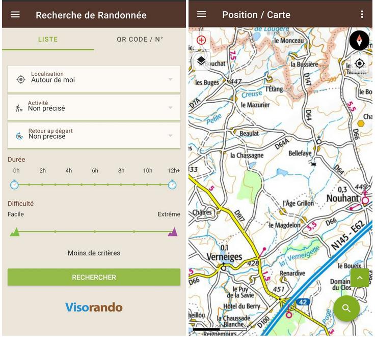Télécharger Visorando (APK) pour Android