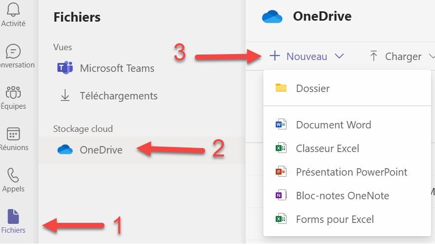 Microsoft Teams Collaboration Word