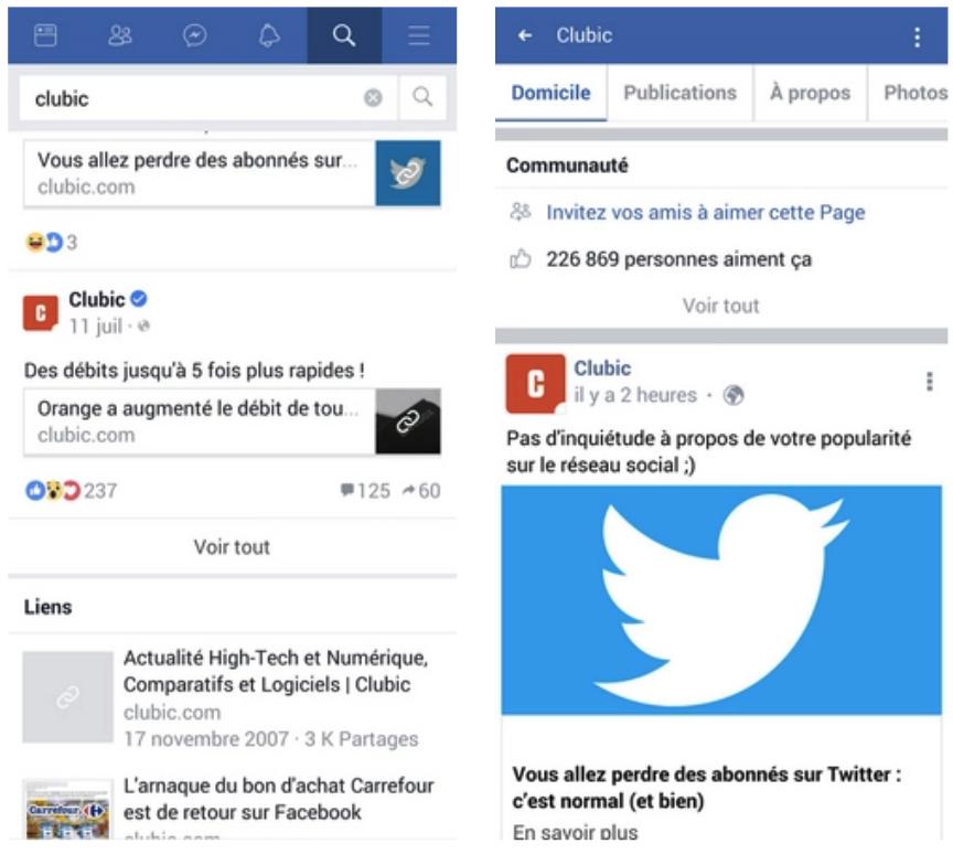Télécharger Facebook Lite Android
