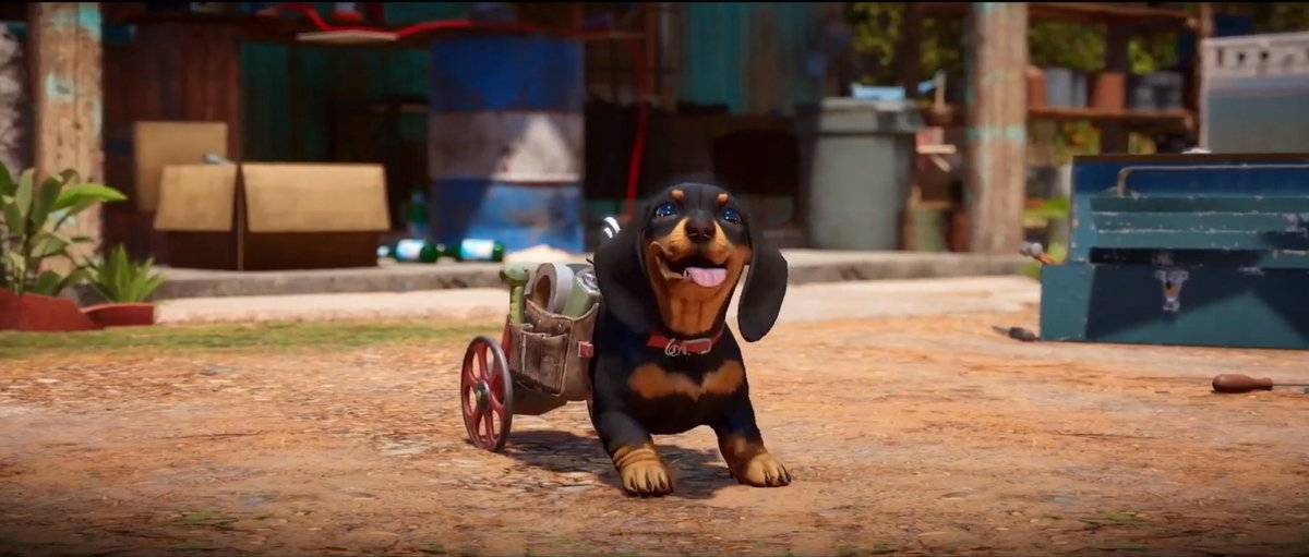 Far Cry 6 chien © Ubisoft