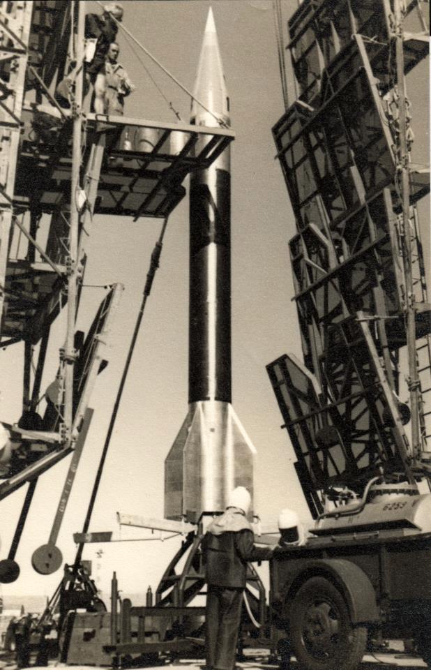 Fusée Véronique © Eric Salard - Domaine Public