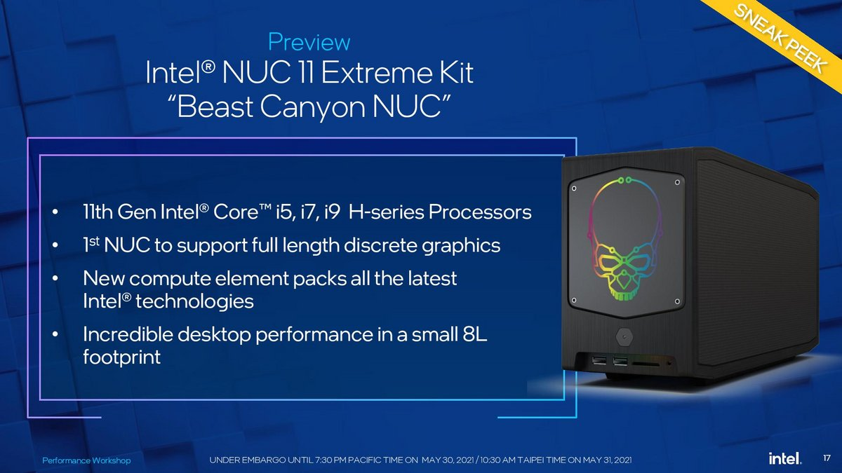 BeastCanyon © Intel