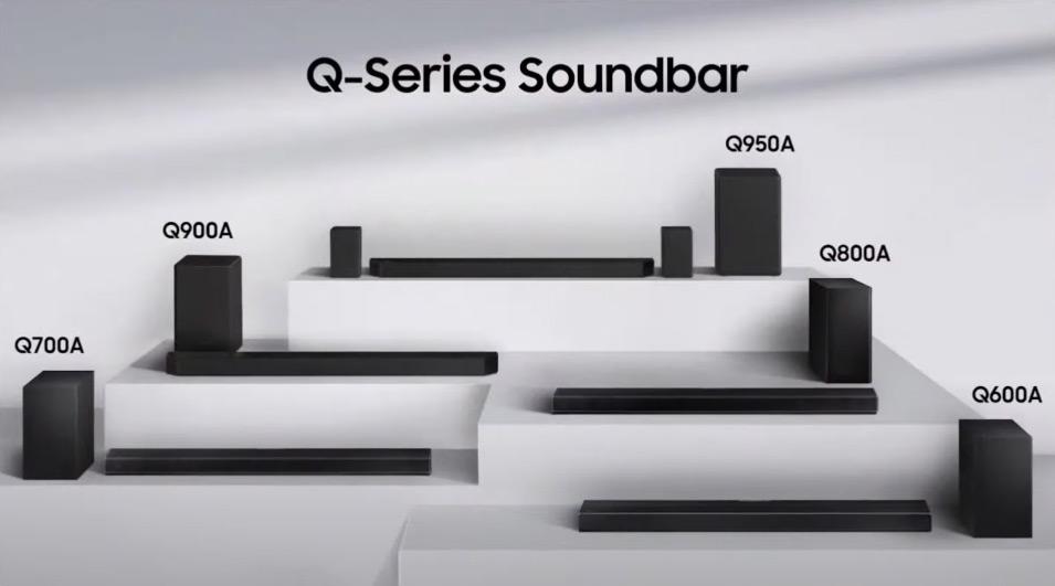 Samsung HW-Q800A gamme Q-Series 2021