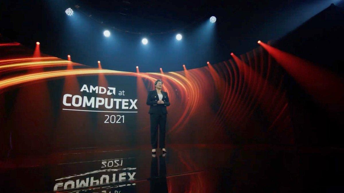 AMD Computex 2021 © © AMD