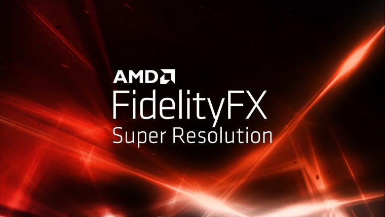 AMD FidelityFX Super Resolution © AMD
