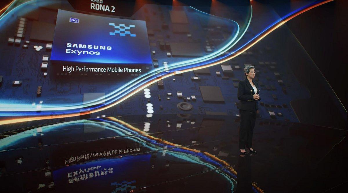 Samsung Exynos AMD © AMD