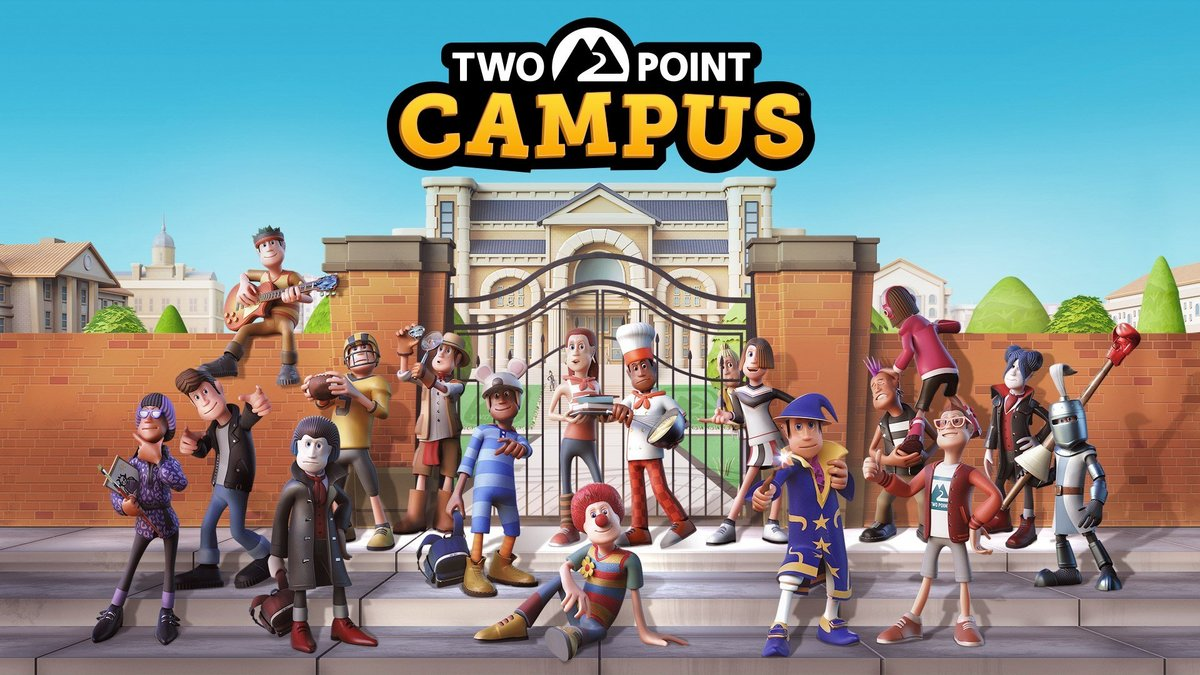 Two Point Campus © Two Point Studios