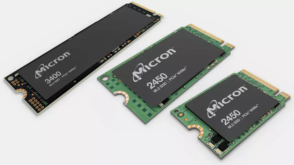 Micron SSD 3400 et 2450 © Micron