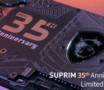 MSI lève le voile sur sa GeForce RTX 30 SUPRIM édition anniversaire et... c'est beau