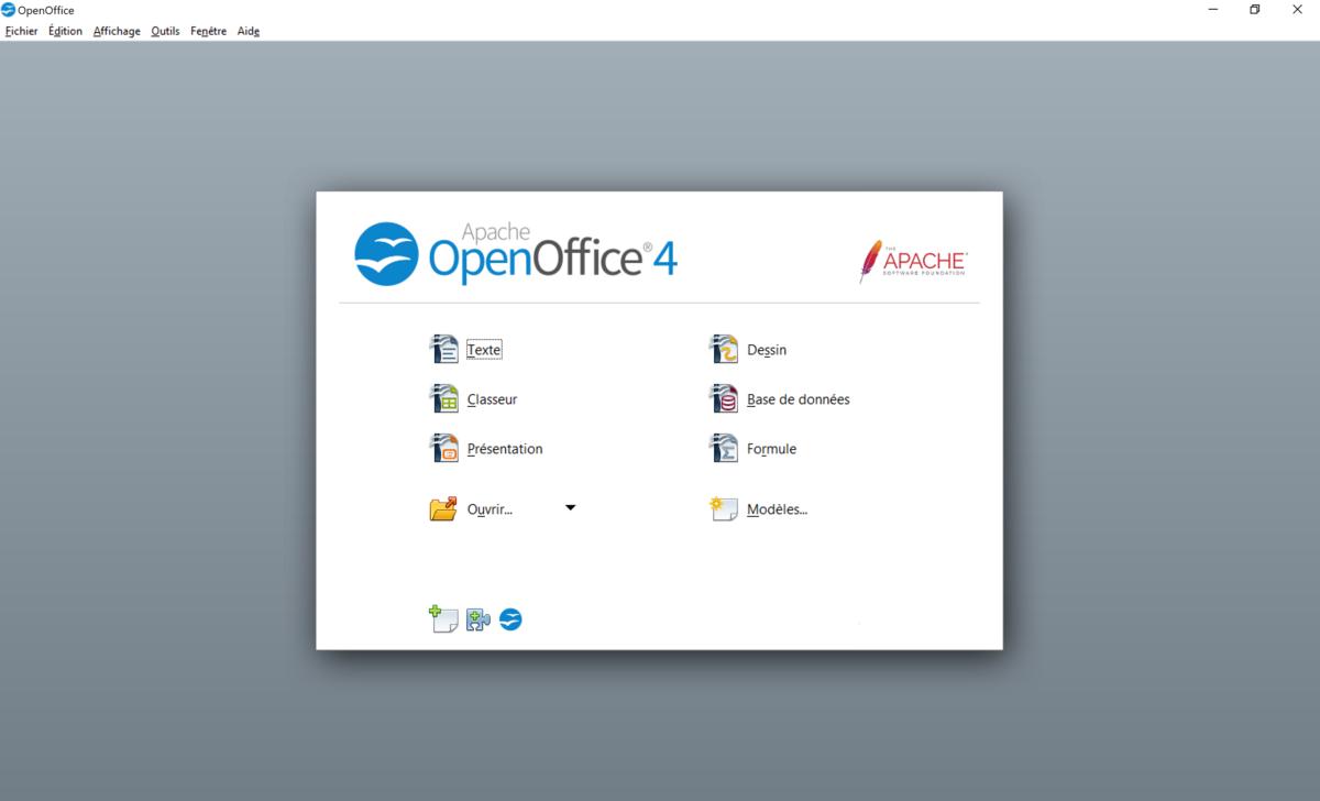 Open Office Screen Launcher
