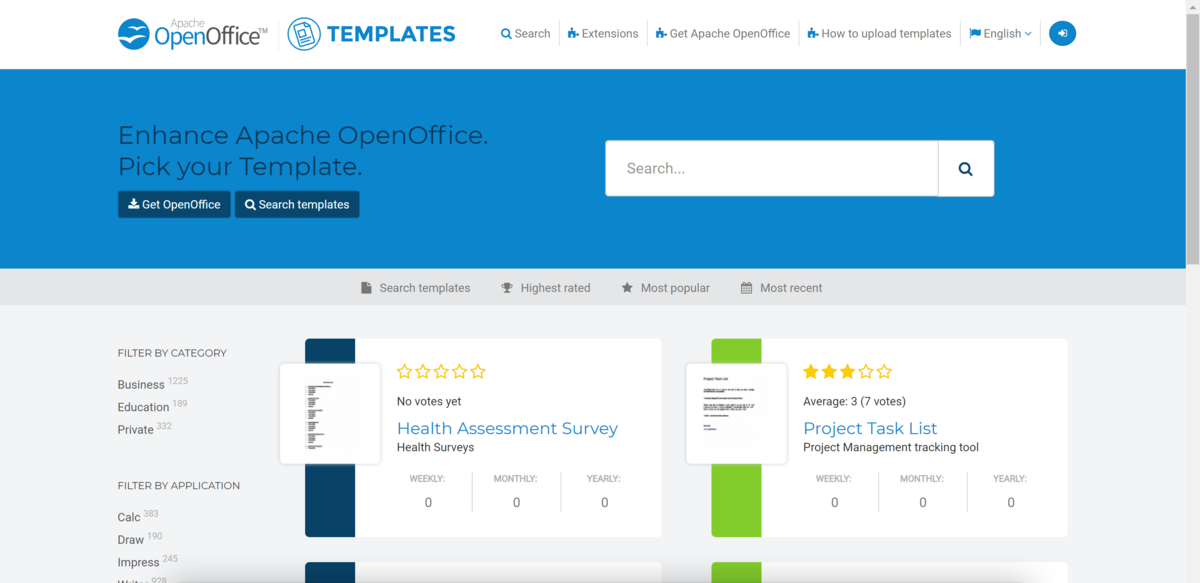 Open Office Screen Extensions