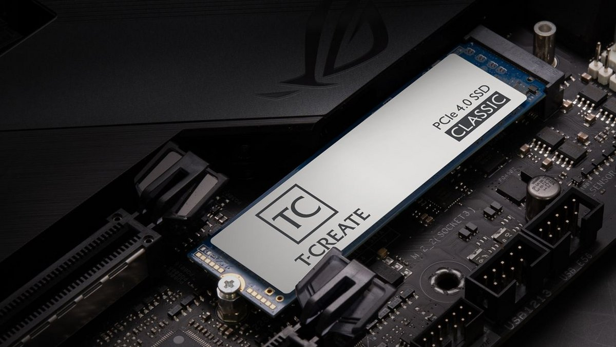 Teamgroup T-Create Classic PCIe 4.0 © Teamgroup