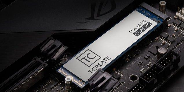 Test Teamgroup T-Create Classic PCIe 4.0 : le SSD qui joue la carte de l'endurance