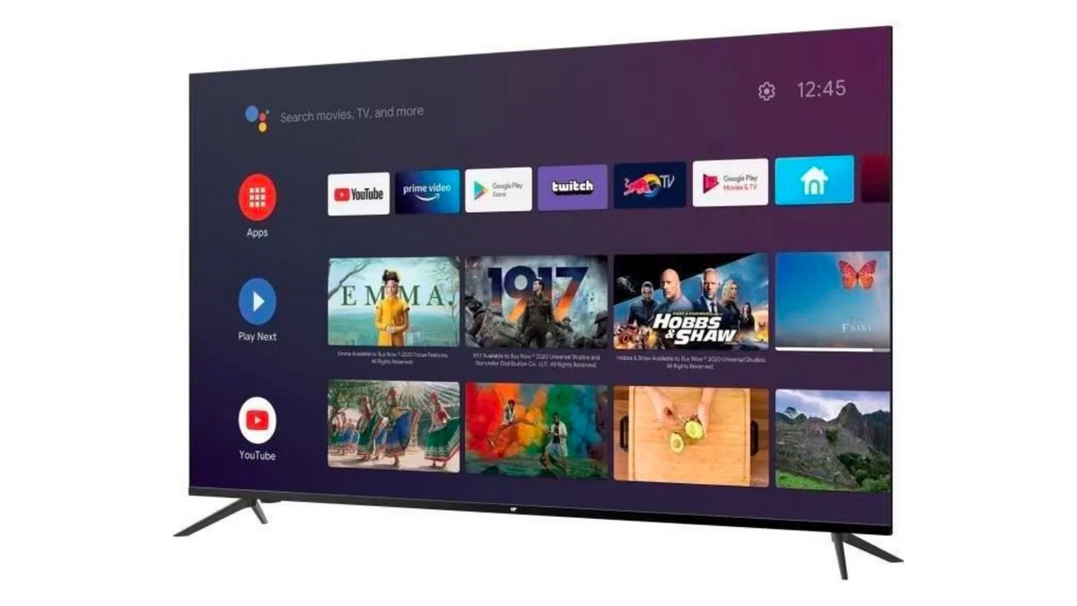 CONTINENTAL EDISON Android TV QLED 58 bp