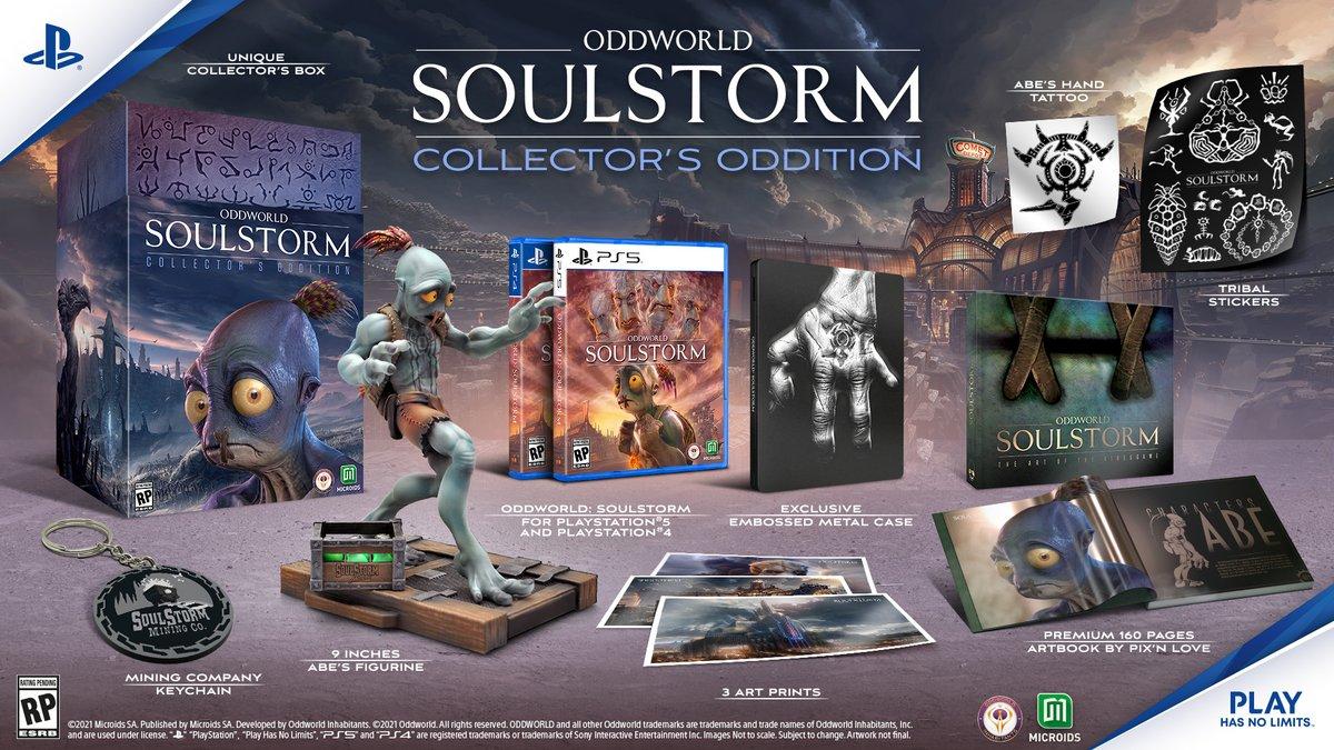 Oddworld Soulstorm collector edition © ©Microids