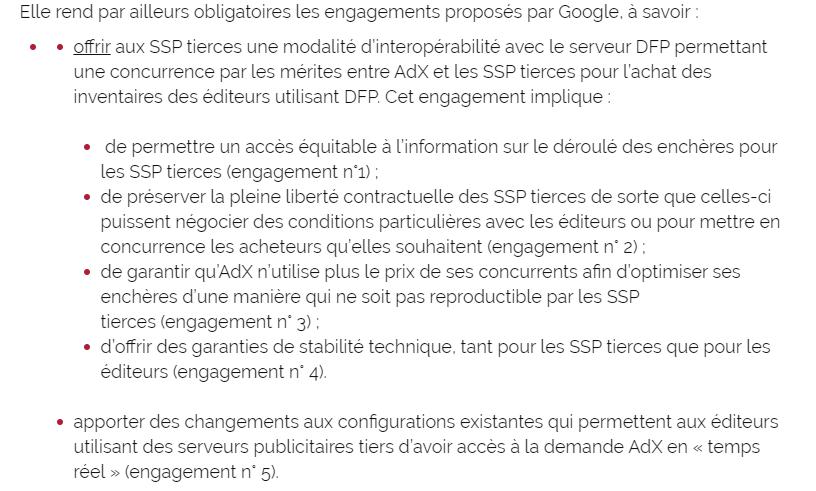 Engagements Google © © Clubic