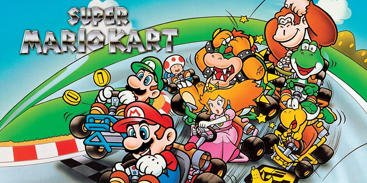 Super Mario Kart SNES © Nintendo