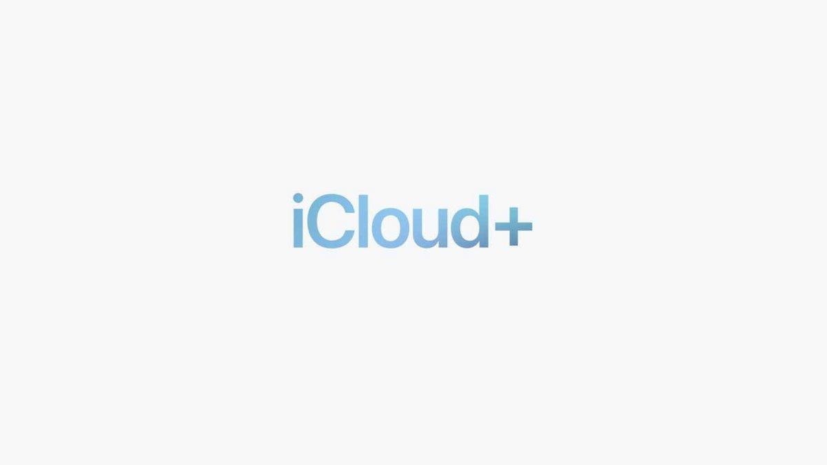 iCloud+ © ©Apple