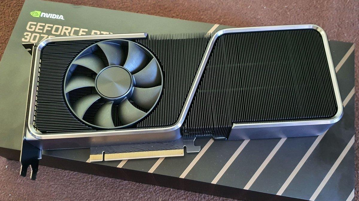 NVIDIA GeForce RTX 3070 Ti © Nerces