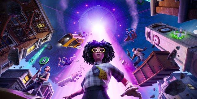 Fortnite : une nouvelle saison débute aujourd'hui sur le thème de la science-fiction et des ovnis
